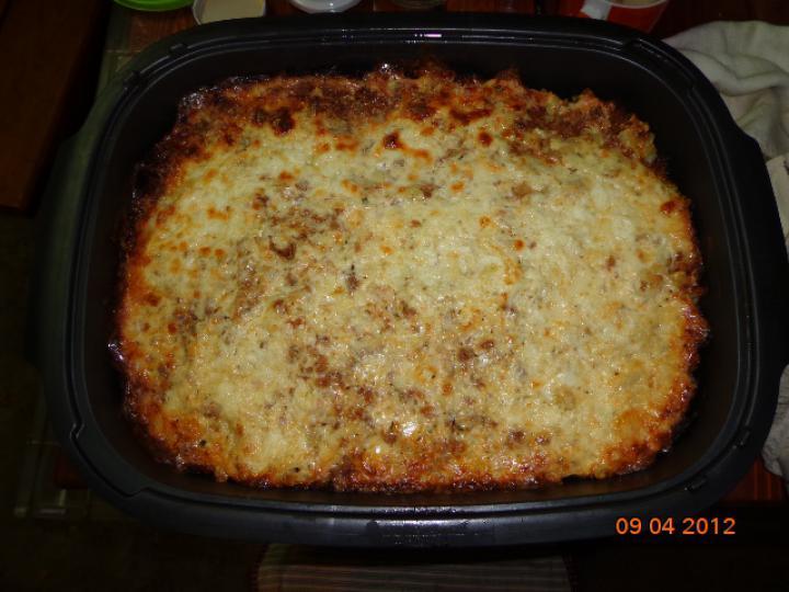 Hamis lasagne elkészítés 4. lépés képe