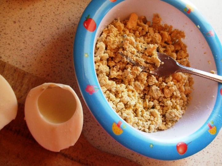 Petrezselymes tojáskrém elkészítés 3. lépés képe