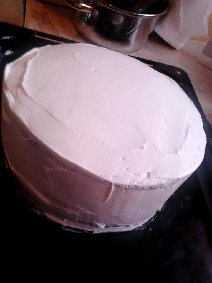 Feketeerdő torta xilittel elkészítés 10. lépés képe