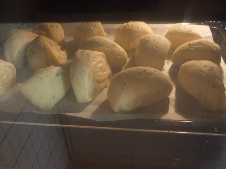 Zöldfűszeres sajtos sarok elkészítés 8. lépés képe