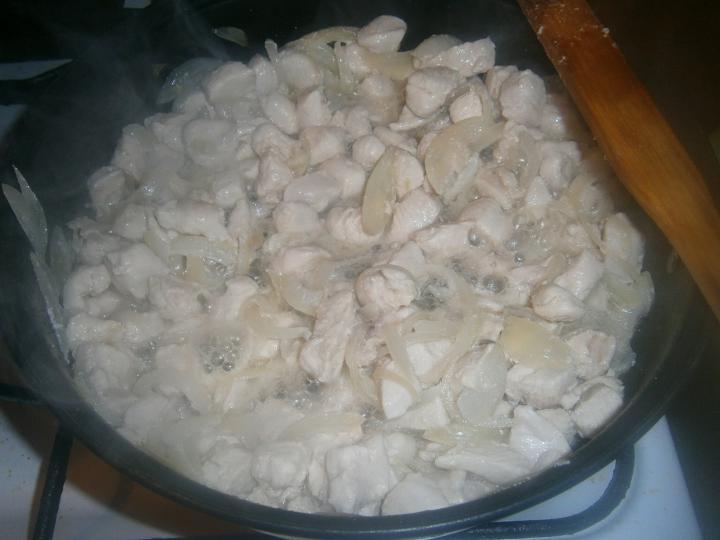 Csirkemelles aprópecsenye elkészítés 1. lépés képe