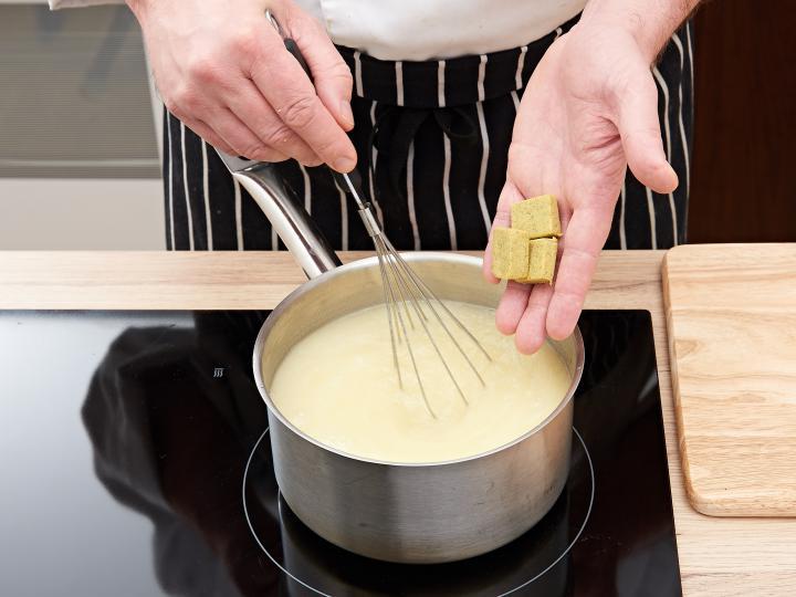 Spárgakrémleves elkészítés 2. lépés képe