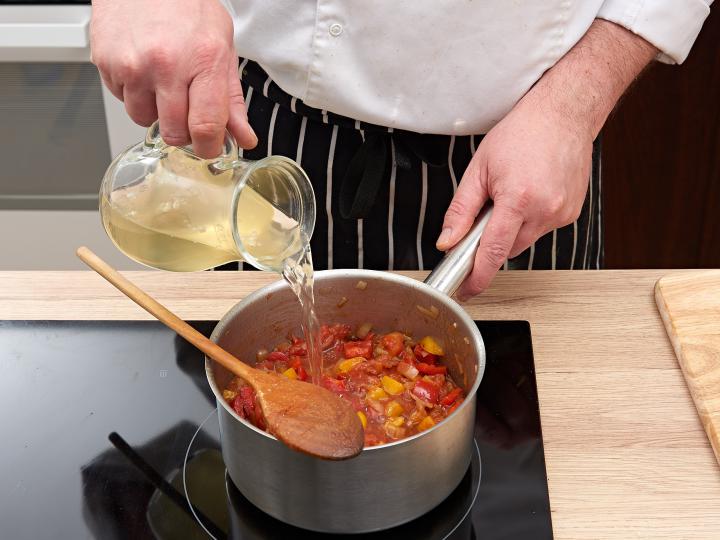 Chilis bab elkészítés 5. lépés képe