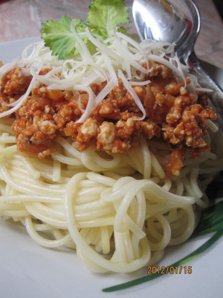 Bolognai spagetti elkészítés 3. lépés képe