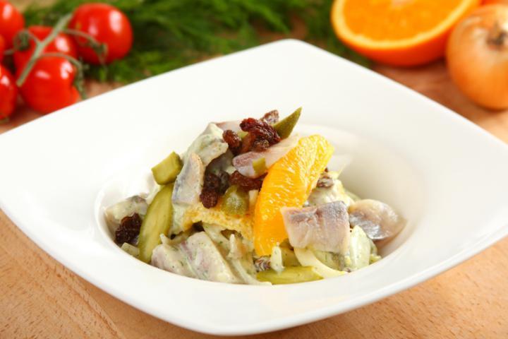 Matias saláta elkészítés 6. lépés képe