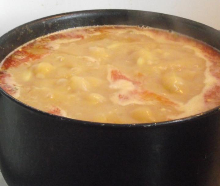 Palócleves marhahússal elkészítés 7. lépés képe