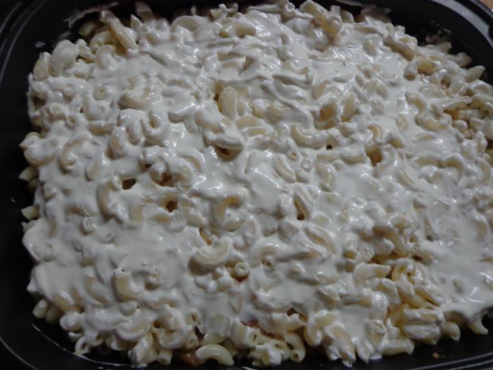 Édes-savanyú bolognai rakott tészta elkészítés 8. lépés képe
