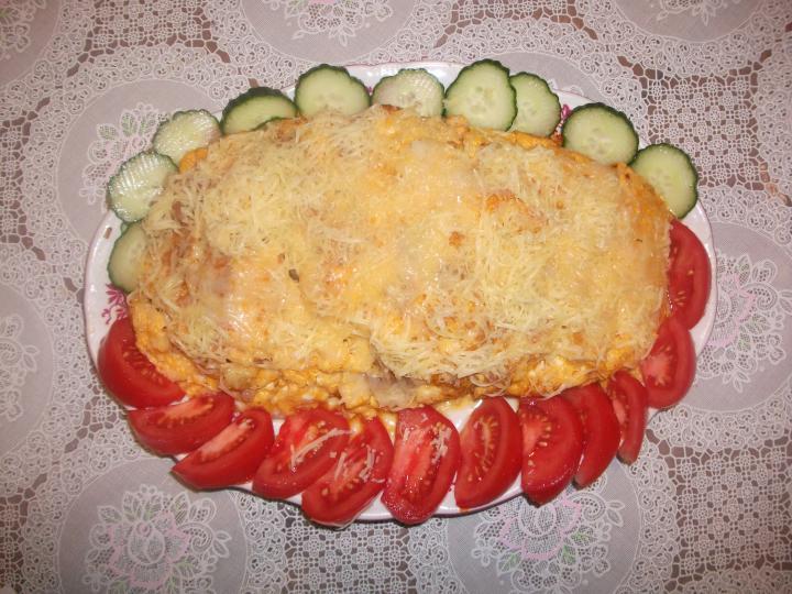 Töltött omlett elkészítés 2. lépés képe