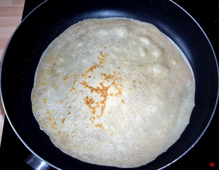 Hortobágyi húsos palacsinta rántva elkészítés 3. lépés képe