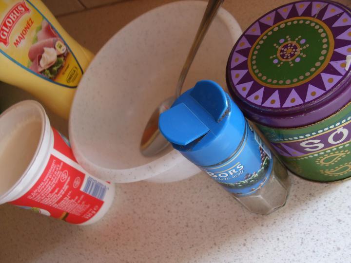 Krumplisaláta szabolcsi módra elkészítés 4. lépés képe