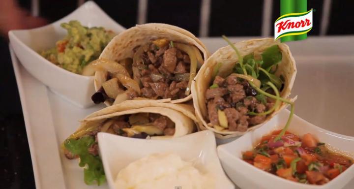 Burritos elkészítés 5. lépés képe