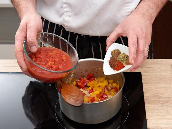 Chilis bab elkészítés 4. lépés képe