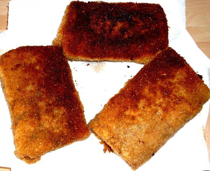 Hortobágyi húsos palacsinta rántva elkészítés 7. lépés képe