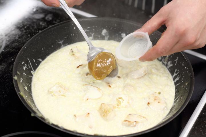 Spenótos csirkemell elkészítés 2. lépés képe