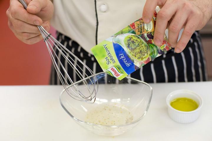 Görög saláta másképp elkészítés 1. lépés képe