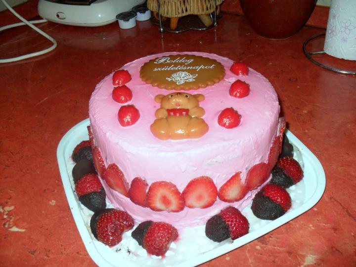 Epres mascarponés torta elkészítés 8. lépés képe