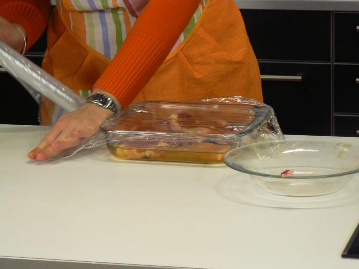 Húspácolás elkészítés 4. lépés képe