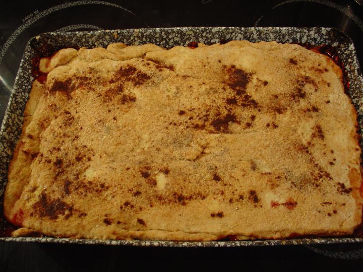 Almás-szilvás pite elkészítés 1. lépés képe