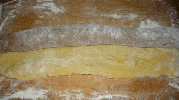 Kétszínű tekercs elkészítés 5. lépés képe