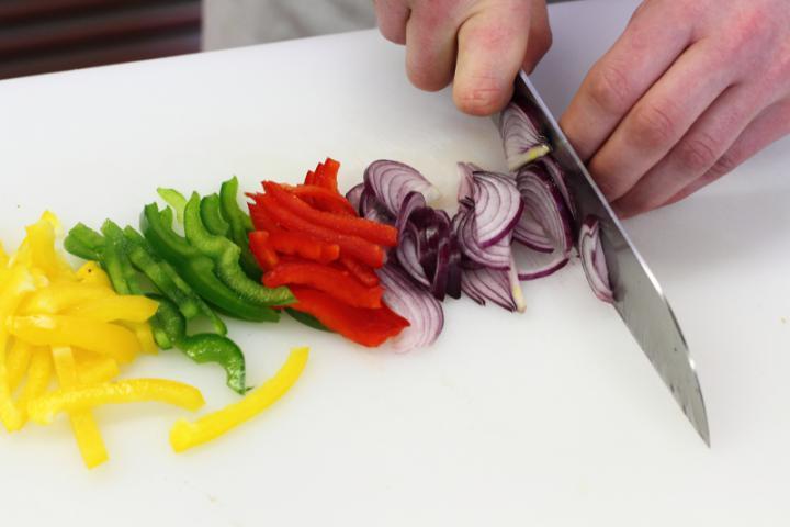 Kebab saláta elkészítés 2. lépés képe