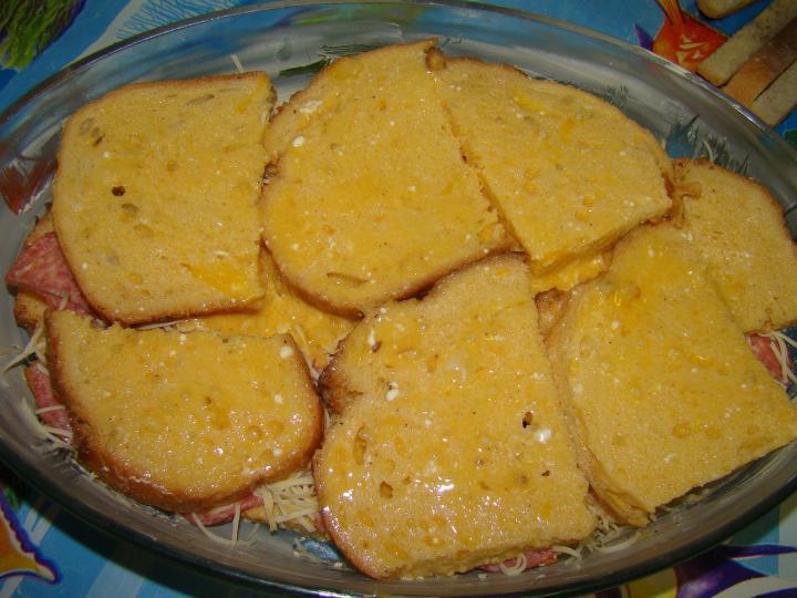 Bundás kenyér máshogy elkészítés 4. lépés képe