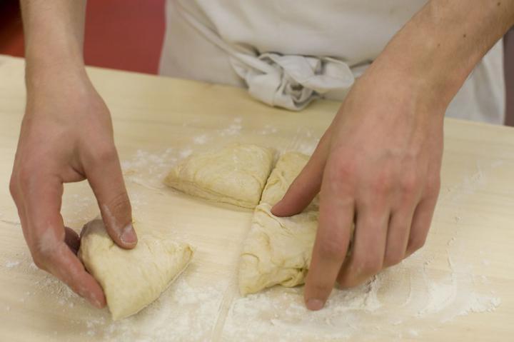 Zöldséges kenyérlángos elkészítés 1. lépés képe