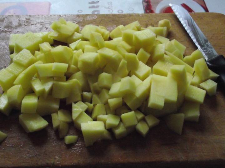 Palócleves marhahússal elkészítés 6. lépés képe