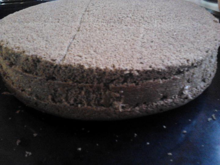 Feketeerdő torta xilittel elkészítés 7. lépés képe