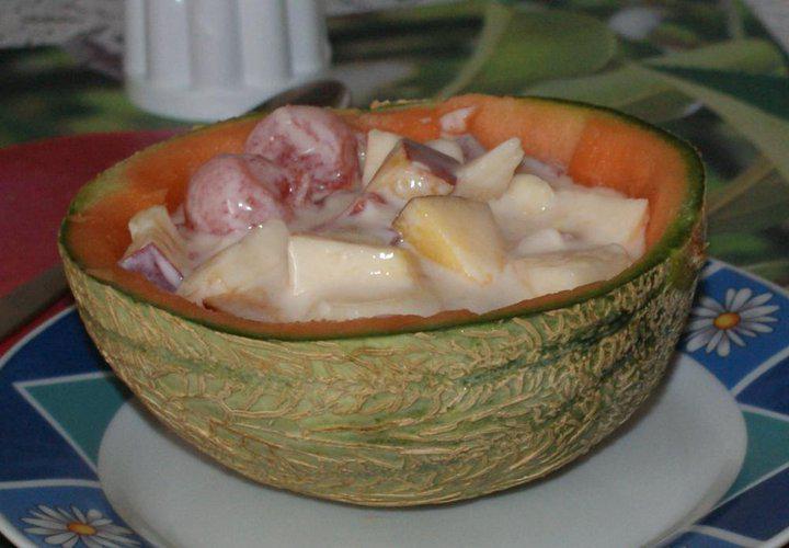 Főzés nélküli gyümöcsleves elkészítés 2. lépés képe